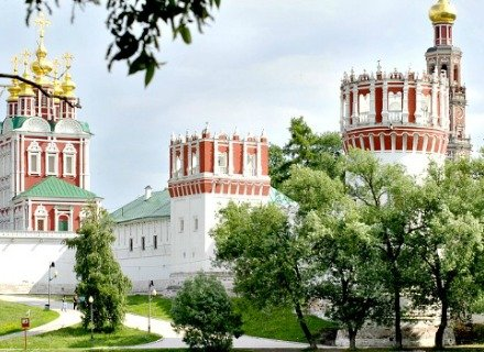 Visite guidée de Moscou et du Couvent Novodievitchi en voiture