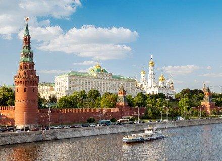 Promenade dans le centre de Moscou