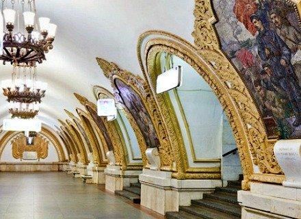 Visite guidée du métro de Moscou