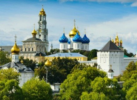 Half Day Guided Tour to Sergiev Posad Monastery - the Heart of Russian Orthodox Religion