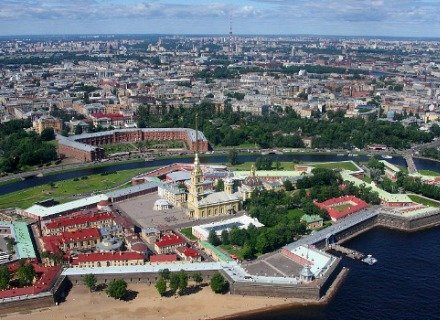 St. Petersburg City Tour & Guided Visit to the Peter and Paul Fortress